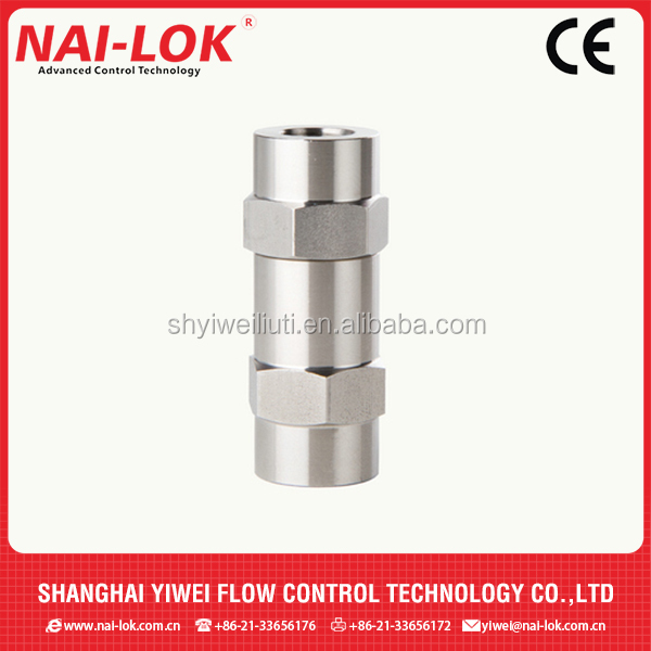 Non return valves check valves