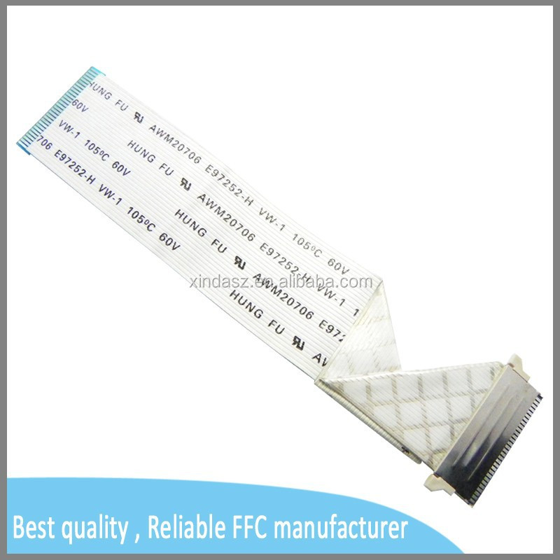 shield LVDS 1.0mm pitch 30pin FFC cable