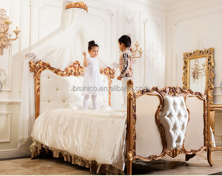 Kids Furniture Antique Children Kids Bedroom Furniture Set