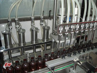 factory price automatic medicine liquid /mint oil filler machine