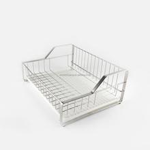 304 stainless steel kitchen tableware shelf dish dryer rack with drain