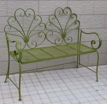 Hot Sell Antique Cast Iron Metal Outdoor Garden Bench Park Bench