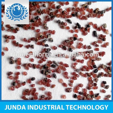 No free silica Fe2 O3 29.5% garnet sand 30 60 for locomotive sandblasting