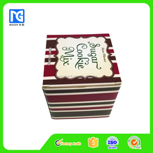 Full Color Printed Cardboard Cookie Gift Boxes