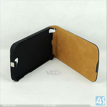 cellphone accessories wholesale leather flip case for samsung galaxy note 2