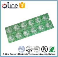Low price double-sided CEM1 3v led light circuit board