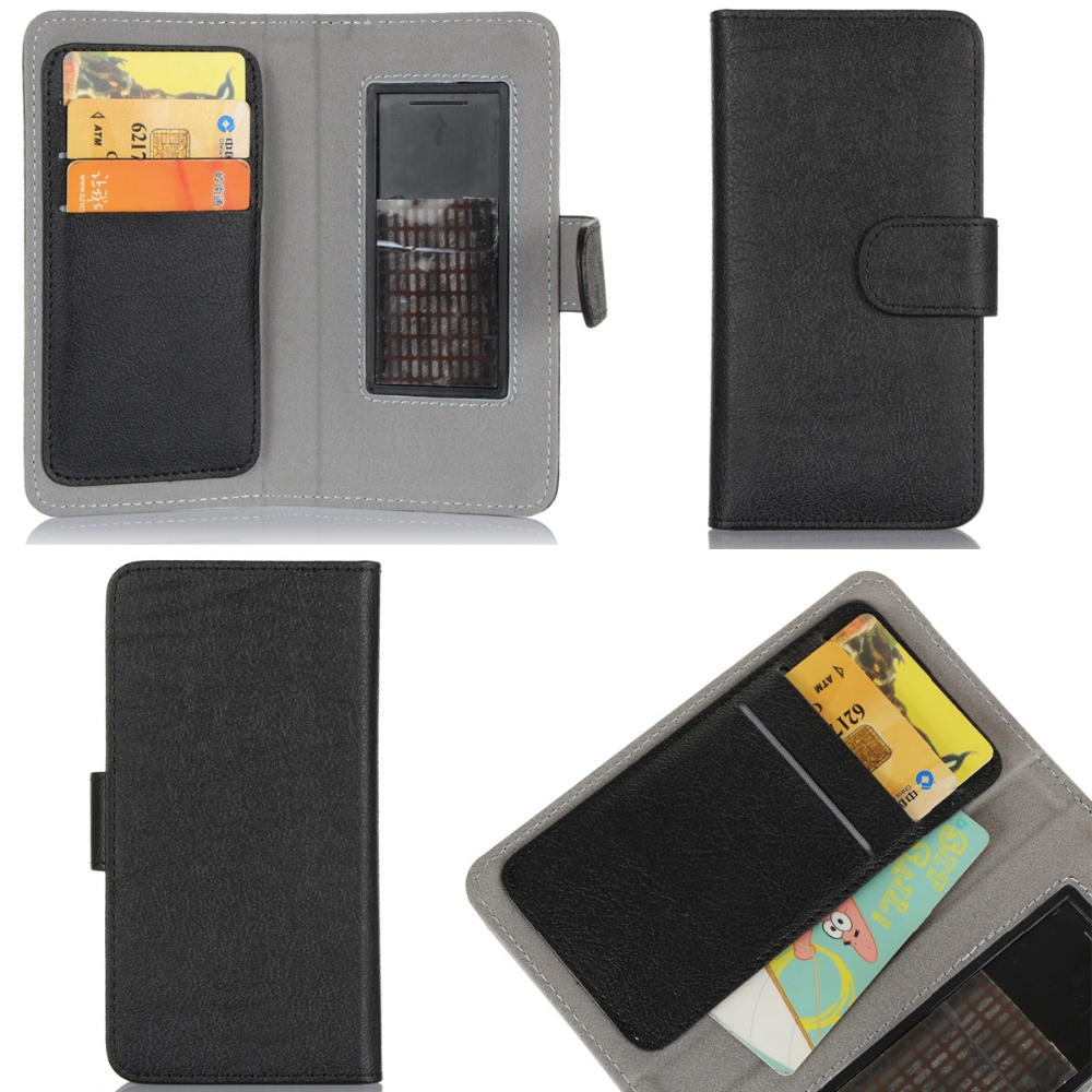 With Card Holder Design Universal Protective Case For Samsung S2 S3 S4 S5