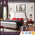 Solid wood sofa bedroom set French style bedroom furniture set