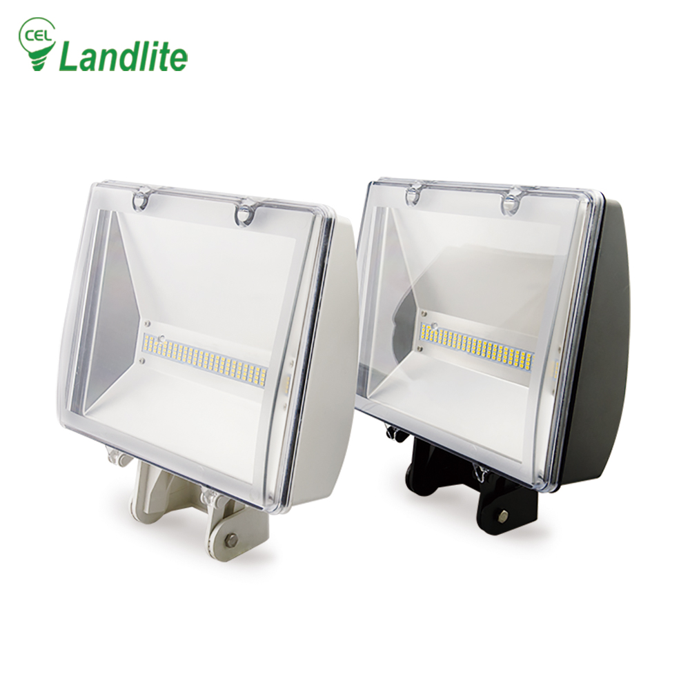 Landlite Rechargeable PC Mini Led Flood Light 1600lm IP65 Portable High Power Led Floodlight 22W