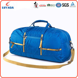 Wholesale multifunctional sport duffel fashion travel bags,foldable travel bag