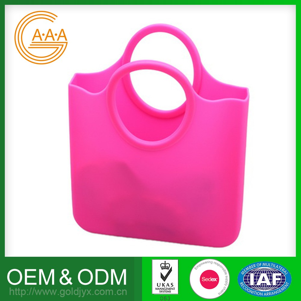 Customized Silicone Woman Bag Soft Rubber Nice Design Handbags Manufactures