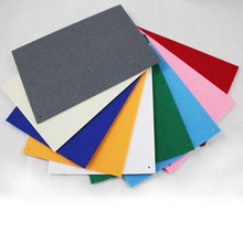 Nonwoven fabric printed felt / needle colorful polyester felt fabrics