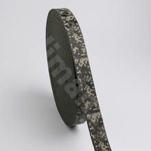 35MM wholesale cotton Camouflage webbing heavy cotton belt