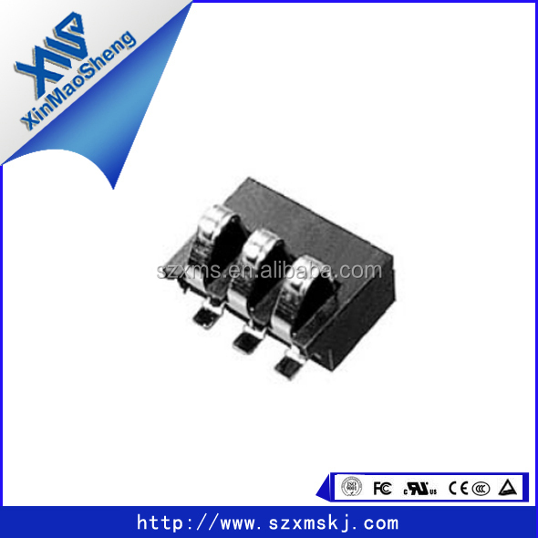 Standard battery connector mobile phone battery connector 3pin