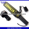 2014 Hot seller NB-1001E RECHARGEABLE SUPER SCANNER Hand Held Metal Detector
