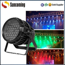 Professional Waterproof RGBW 54 x 3W Outdoor Par 64 LED with Zoom