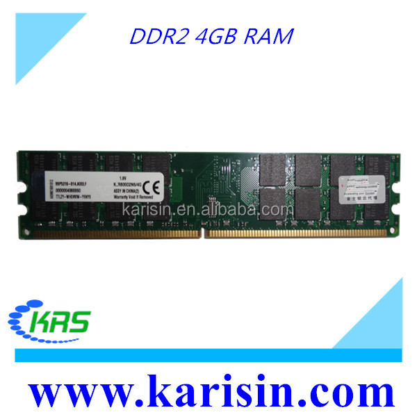 Hot selling 4bit PC2-6400 800mhz 240PIN ddr2 4gb ram for desktop