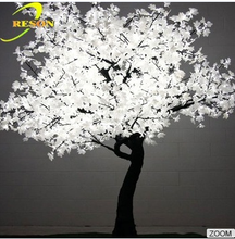 Outdoor wedding lighted white maple tree light for wedding decoration