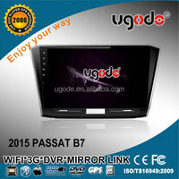 Ugode 10.1 inch HD touch screen android 4.4 VW passat b7 car radio
