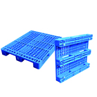 1200*1000*150mm Heavy Duty 3 Runners Open Deck Rackable Plastic Pallet