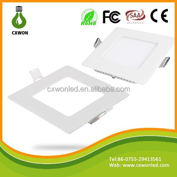 High peiformance 3w 4w 6w 9w 12w 18w 20w square led recesses light,square recessed light cover