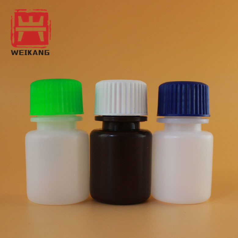 New products 15ml empty plastic reagent bottle with wide mouth medical supplier