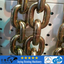 G80 13mm full automatic machinery industrial lifting load link chain for chain block lifting factory price high quality
