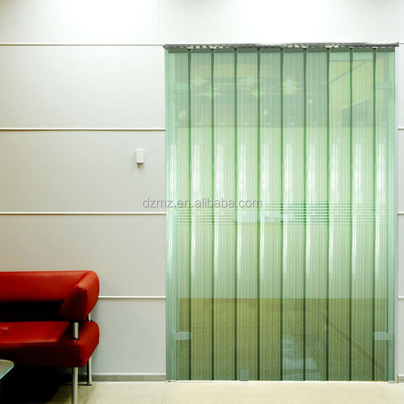 Colorful Ribbed PVC strip door