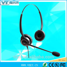 telemarketing products Foldable Headset Convertible Headset wired overhead headset