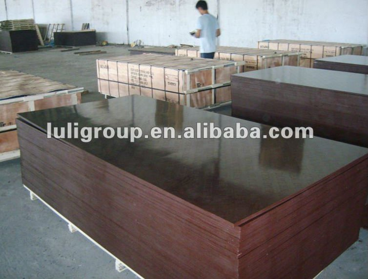 18mm Phenolic plywood,WBP waterproof film faced plywood /shuttering board,Concrete formwork plywood for construction