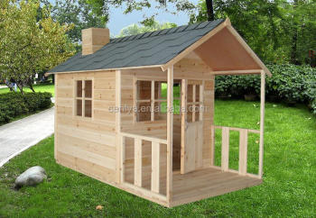 New design wooden kid play house with great price