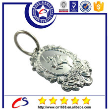 High quality popular cool fighting badge keychain/metal keychain
