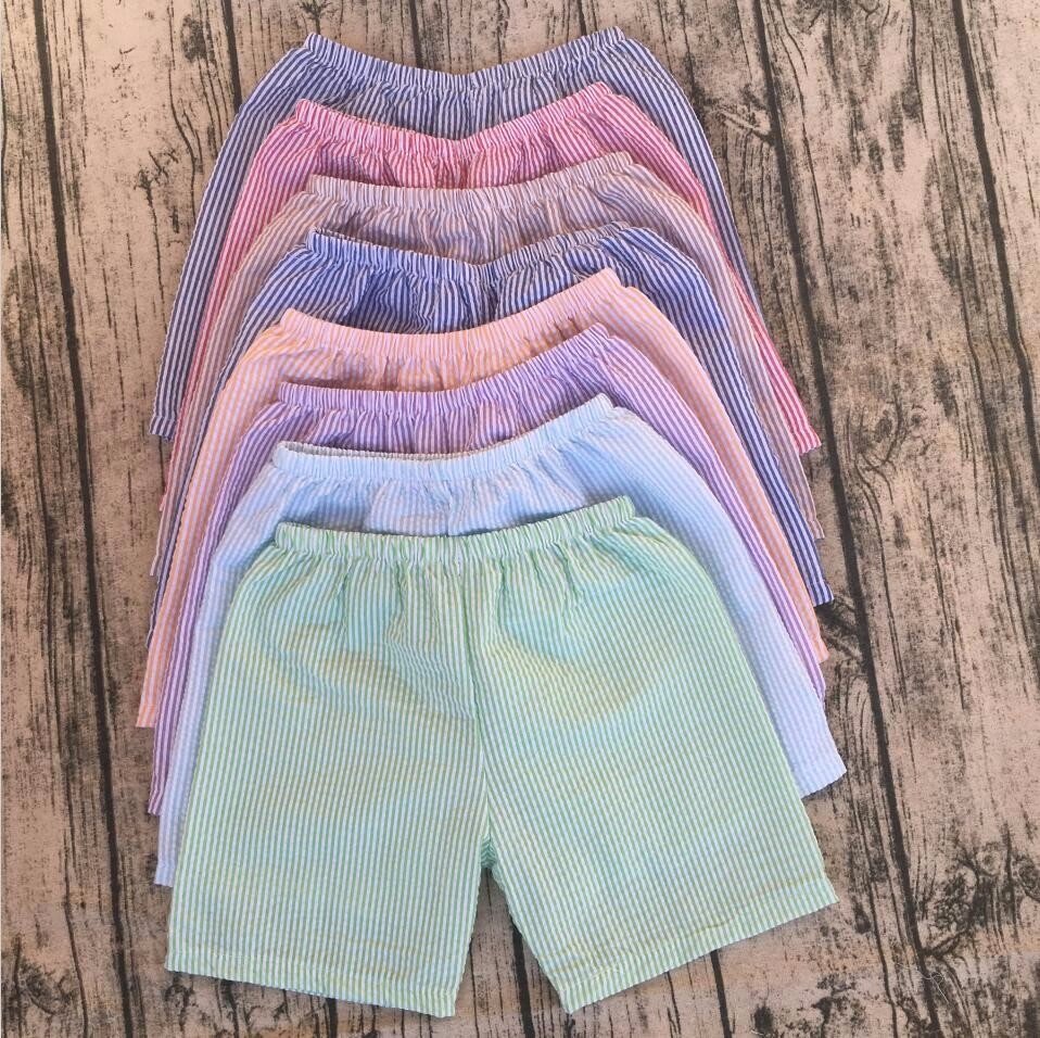 new hot children kids baby toddler newborn boys board casual Elastic Waistline shorts cheap kid seersucker summer baby shorts