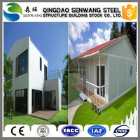Good Quality Flat Roof Prefab Houses