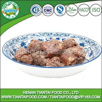 export import china beef meat halal in novelty tin can