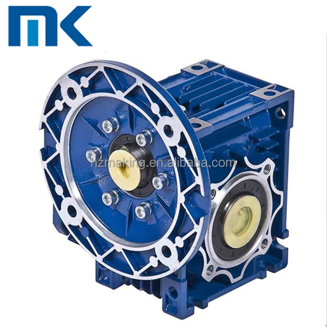 Power transmission cast iron industrial use 100: 1 ratio gearbox