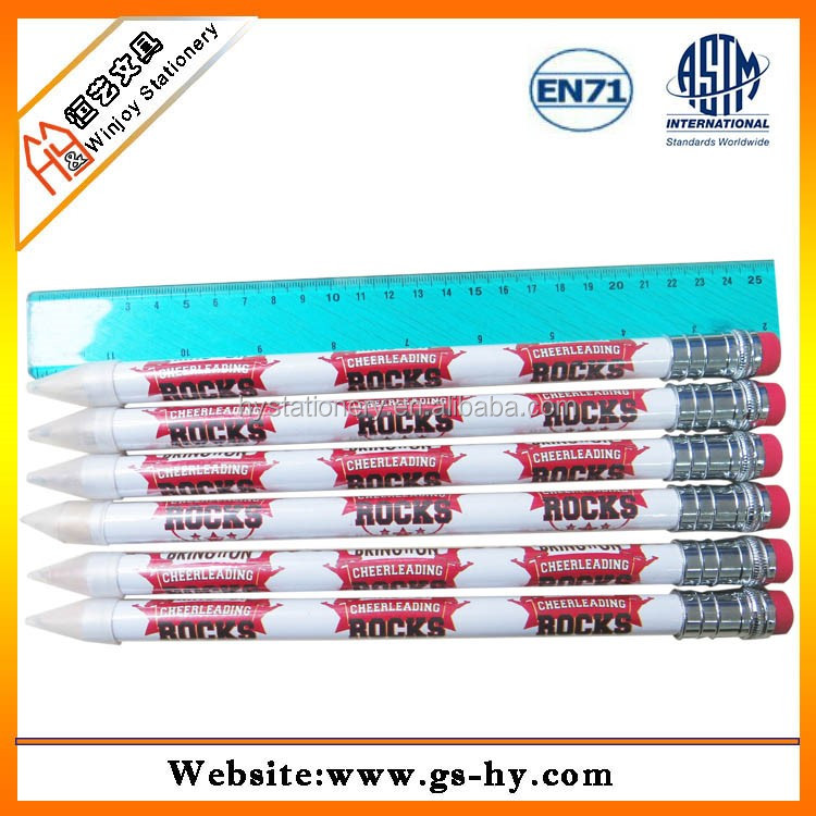 Stationery Set Packaging and Standard Pencils Type Eco-friendly Paper Pencil, cheap pen and pencil set