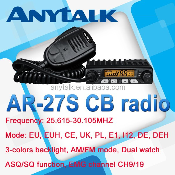 HOT selling radio AT-27S AM FM base cb radio
