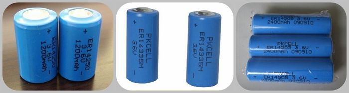2017 Er14505M/ Er14505H 3.6V Lithium Battery Aa Er14505 Lisocl2 Aa Batteries