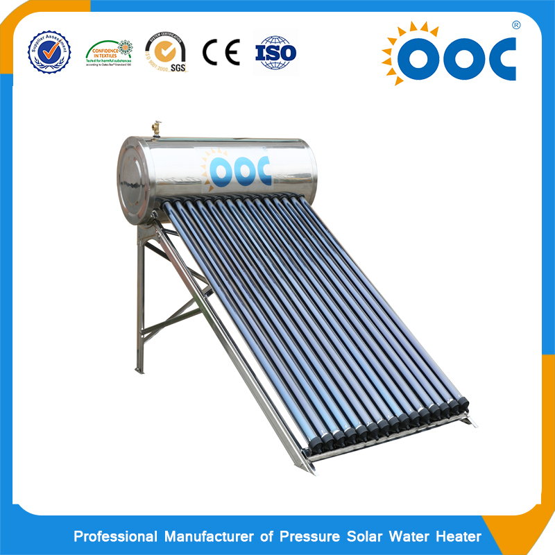 Good price high pressure stainless steel kamal solar water heater price