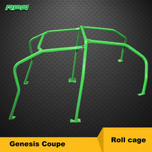 6 Point Racing Dirft Roll Cage Safty Cage Fit for Genesis Coupe Anti Roll Cage