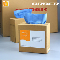 43 cm*23 cm 120 pieces Pop-Up Box Wipers automobile parts industry extractive disposable non-woven wipes