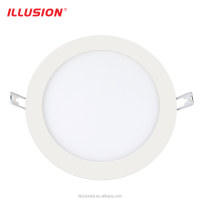 CE EMC Rhos Approved 9w 80lm/w Recessed LED Slim Panel Light