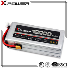 Drone multi-helicopter UAV 20C 12000mAh 22.2V high energy density Lipo Battery