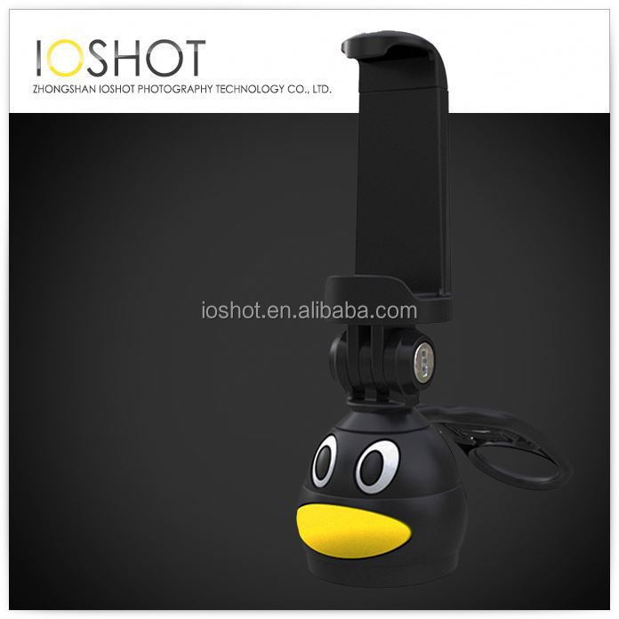 Bluetooth Remote Shutter Monopod For Mobile Phone