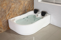 special size bathtubs with massage