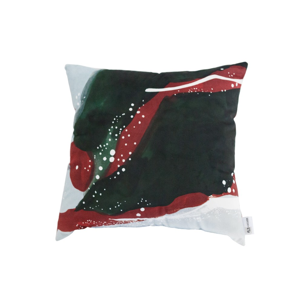 Home decor Living room pillowcase Koi / Spirulina knee lumbar back support pillow cushion