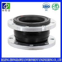 Fiberglass fabric reinforced pipeline flexible expansion joint