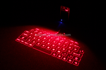 2016 New Technology Virtual Laser Projection Wireless Bluetooth Infrared Keyboard Projection