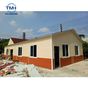Customize Prefabricated Bali House Bungalows/france Export Low Cost Prefabricated House